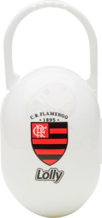Porta Chupeta Flamengo Lolly