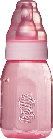 Mamadeira Clean 120 ml Color Líquidos Ralos Lolly