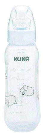 Mamadeira Natural Branca 250 ml Kuka