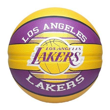 Bola de Basquete Spalding NBA Time Lakers