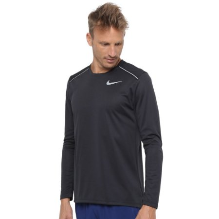 Camiseta Nike Dry Miler Manga Longa