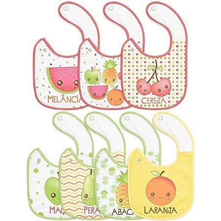 Babador Semaninha Papi - mix de frutas