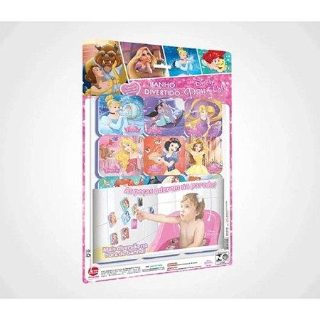 Banho divertido Princesas Disney - Rosa