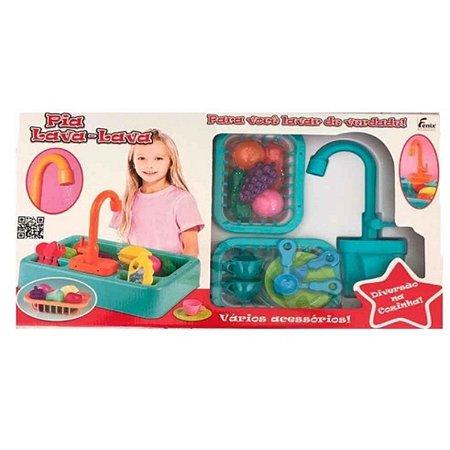Pia Lava Lava Fenix Brinquedos - rosa