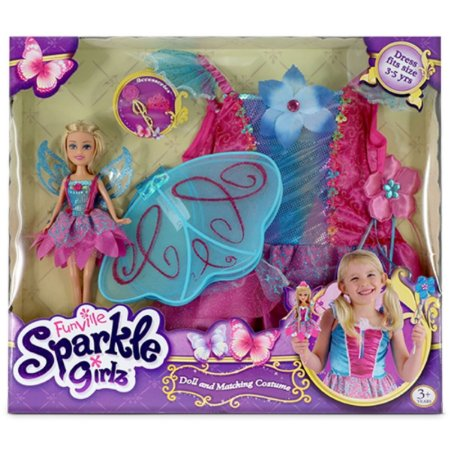 Fada Fantasia Funvile Sparkle Girlz
