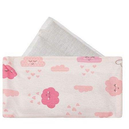 Faixa Térmica Papi bolsa com sementes - nuvem rosa