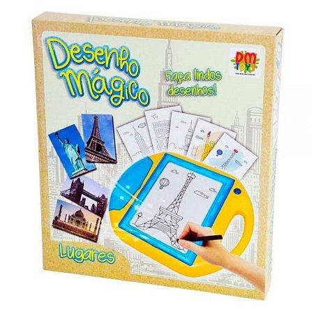 Desenho Mágico Dm Toys - Lugares