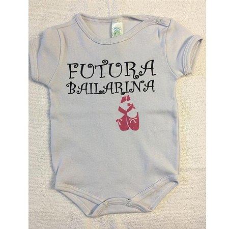 Body Estampado Linea baby - bailarina branco