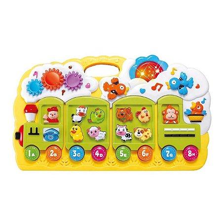 Trenzinho Brinquedo Divertido Dm Toys - colorido