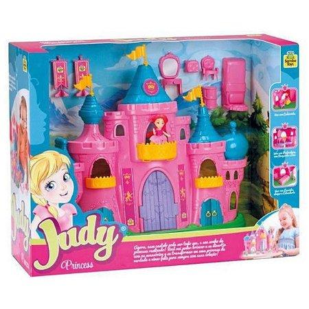 Castelo Judy Princess com Móveis Samba Toys