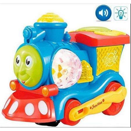 Trenzinho Bate e Volta Dm Toys