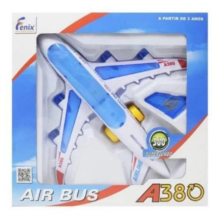 Avião Air Bus A380 Fenix Brinquedos
