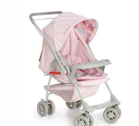 Carrinho de bebê Galzerano Milano reversível II - rosa