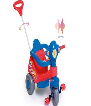 Triciclo Calesita Velocita - vermelho