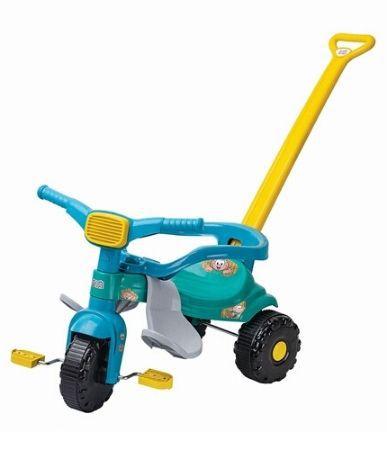 Triciclo Magic Toys tico tico com aro - cebolinha