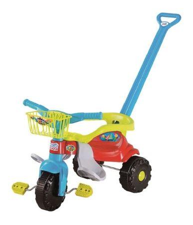 Triciclo Magic Toys tico tico - festa azul