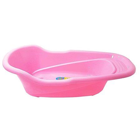 Banheira Adoleta 20 litros - rosa
