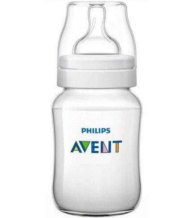 Mamadeira Philips Avent Classic+260 ml 1+mês - branco
