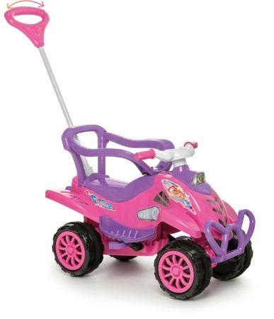Carinho Quadriciclo Calesita Cross Turbo com pedal - pink