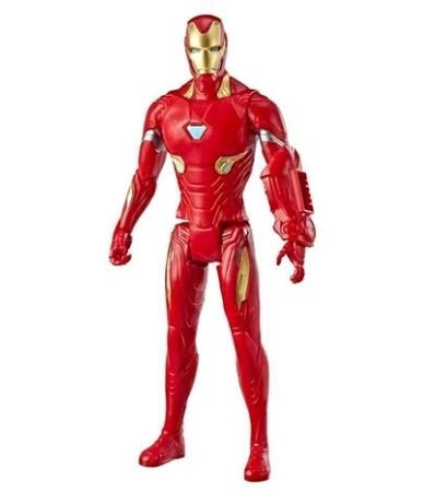 Boneco Hasbro Titan hero series 30cm - Iron Man