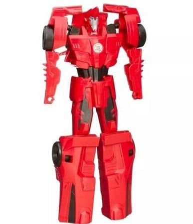 Boneco Hasbro Transformer Titan Rid Change - vermelho