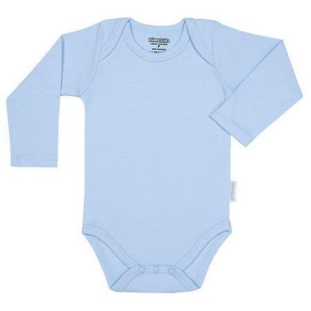 Body Pimpolho manga longa - azul