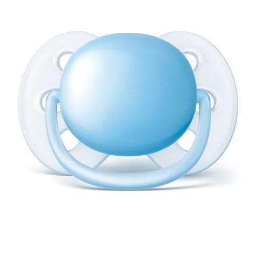 Chupeta Philips Avent Ultra Soft 0 a 6 meses - azul