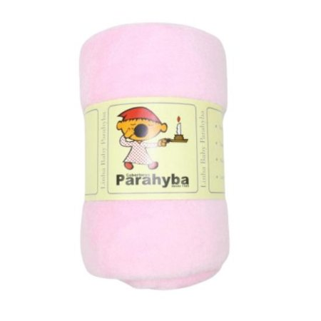 Cobertor infantil Parahyba Microfibra - rosa