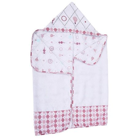 Toalha de banho Minasrey Loupiot circus com felpa - rosa