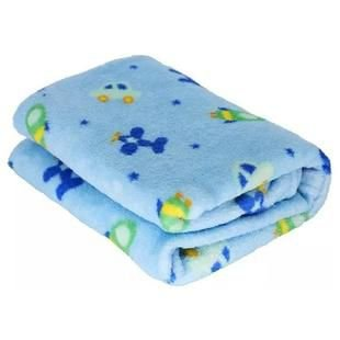 Manta Hazime Confort Microfibra - azul