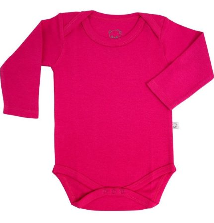 Body Pimpolho manga longa - rosa pink