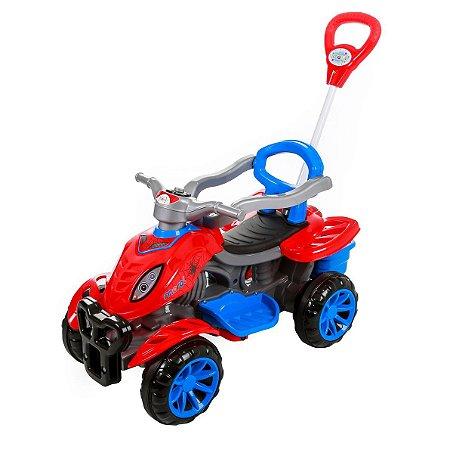 Carrinho Maral Quadriciclo Spider - azul