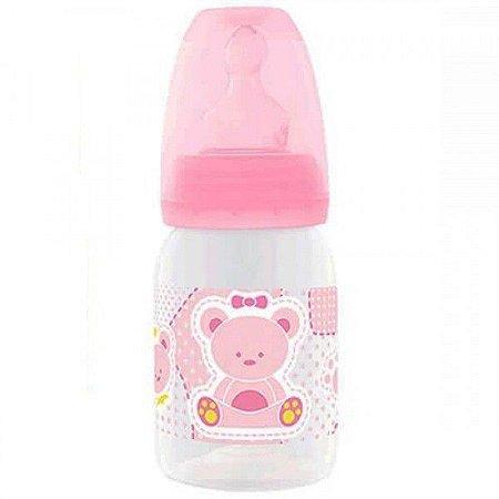 Mamadeira Lillo Primeiros Passos 120ml tamanho 1 - rosa