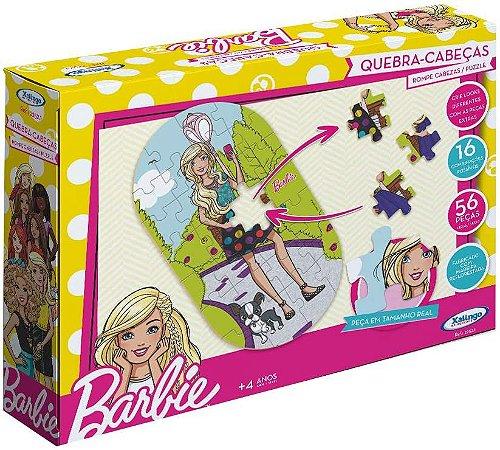 Quebra Cabeças Xalingo troca de roupa - Barbie