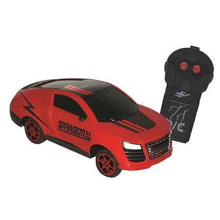 Carro Candide de Controle Remoto Spark - vermelho