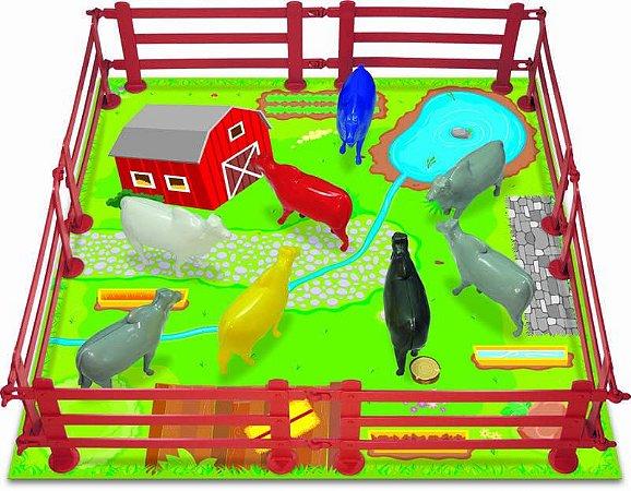 Kit Minha Fazenda GGB Brinquedos - fazendinha