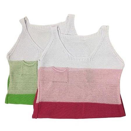 Blusa Máxima Confecções tricot - cores variadas