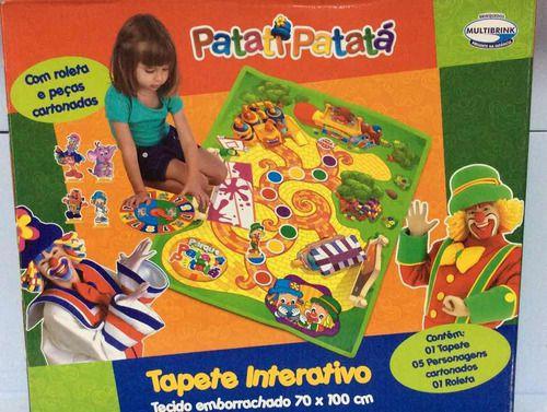 Tapete interativo Patati Patata    Multibrink   tapete interativo colorido