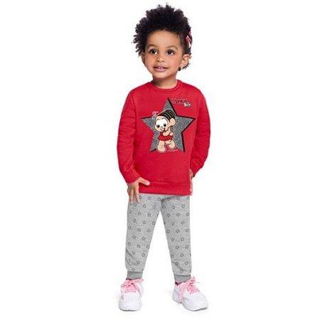 Conjunto Blusão Calça Jogger feminino Brandili