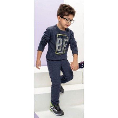 Conjunto Blusão Calça Jogger Masculino Infantil Brandili
