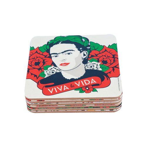 Conjunto Porta copos - Fidra Kahlo