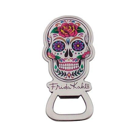 Abridor de garrafa magnético - Frida Kahlo