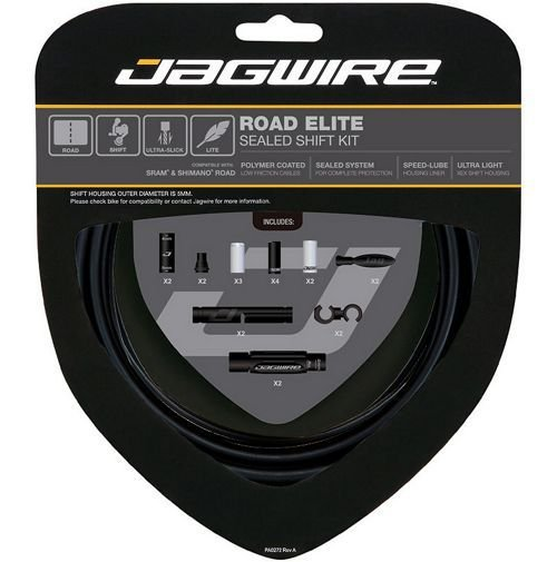 Kit de Cabo de Câmbio Jagwire Elite Road