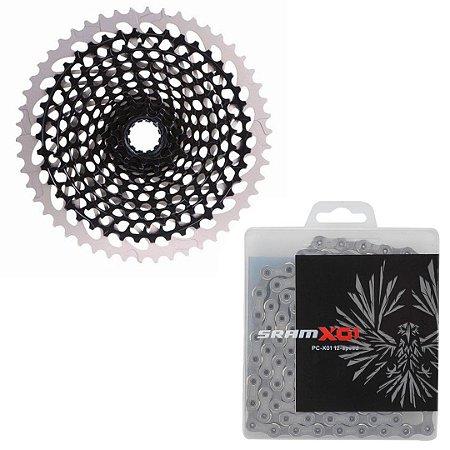 Cassete + Corrente Sram X01 Eagle