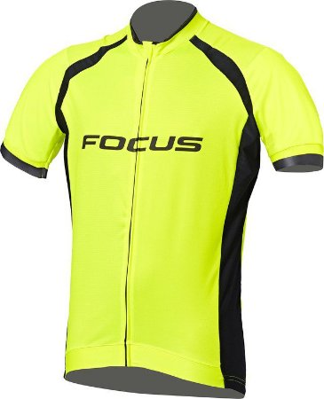 Camisa Focus Race - Amarelo Fluo