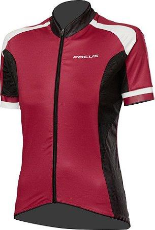 Camisa Focus Race Woman - Marsala