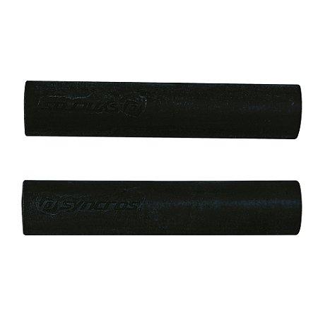 Manopla Silicone Syncros - Preta