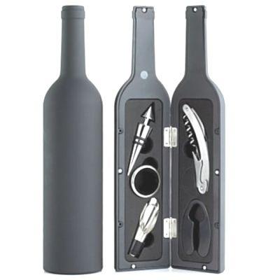Kit Vinho formato Garrafa -  5 PEÇAS