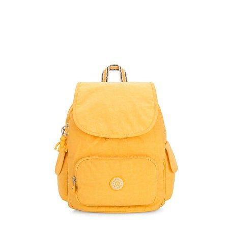 Mochila Kipling City Pack S Amarela