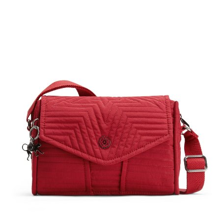 Bolsa Kipling Ready Now s - Vermelha